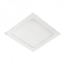 Ecola LED downlight встраив. Квадратный даунлайт с драйвером 15W 220V 4200K 195x195x20
