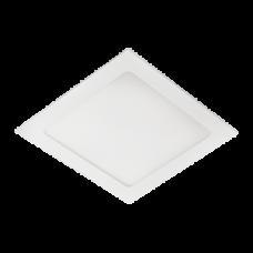 Ecola LED downlight встраив. Квадратный даунлайт с драйвером 15W 220V 6500K 195x195x20