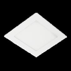 Ecola LED downlight встраив. Квадратный даунлайт с драйвером 4W 220V 4200K 85x85x20
