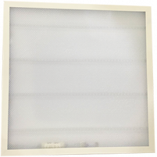 Ecola LED panel встраив. (со ступенькой) панель с драйвером внутри 36W 220V 6500K Призма 595x595x25