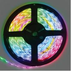 Ecola LED strip PRO 14.4W/m 24V IP20 10mm 60Led/m RGB разноцветная светодиодная лента на катушке 5м.