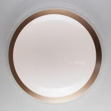 Потолочный светодиодный светильник с пультом ДУ Eurosvet Fusion 40004/1 LED матовое золото