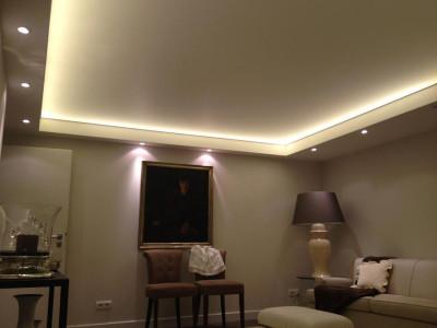 Как выбрать светильники для натяжных потолков?