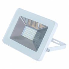 Ecola Projector LED 10,0W 220V 4200K IP65 Светодиодный Прожектор тонкий Белый 115x80x14