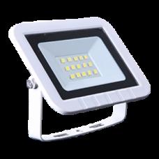 Ecola Projector LED 10,0W 220V 6000K IP65 Светодиодный Прожектор тонкий Белый 100x80x26