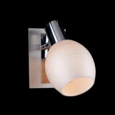 Спот Eurosvet 20121/1 хром-сатин/никель