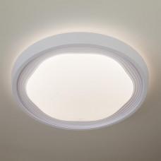 Потолочный светодиодный светильник с пультом ДУ Eurosvet Range 40005/1 LED белый