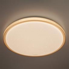 Потолочный светодиодный светильник с пультом ДУ Eurosvet Sandy 40015/1 LED кофе
