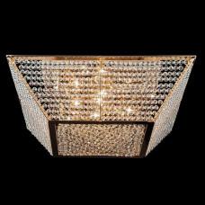 Потолочный светильник Eurosvet 10034/5 золото/прозрачный хрусталь Strotskis