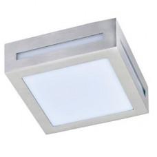Ecola GX53 LED 3082W светильник накладной IP65 матовый Квадрат металл. 1*GX53 Cатин-хром 136x136x55