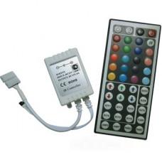 Ecola LED strip RGB IR controller 6A 72W 12V (144W 24V) с большим инфракрасным пультом управления