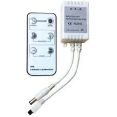 Ecola LED strip Dimmer 4A 48W 12V с инфракрасным пультом управления с автоматическими режимами