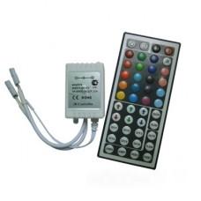 Ecola LED strip RGB IR controller 12A 144W 12V (288W 24V) с большим инфракрасным пультом управления